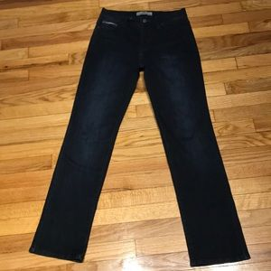 Straight 512 Jeans Dark wash Casual Fit High Waist